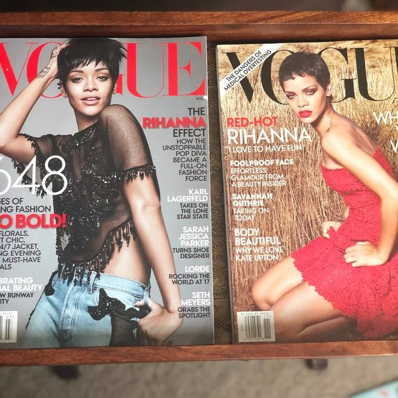 Vogue Other - 2 Rihanna VOGUE covers 2012 & 2104